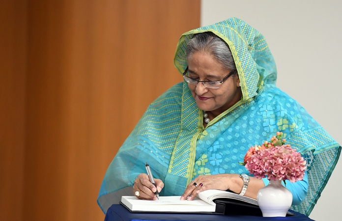 Hasina's Financial Times article advocates 'cleaner, greener, safer world'
