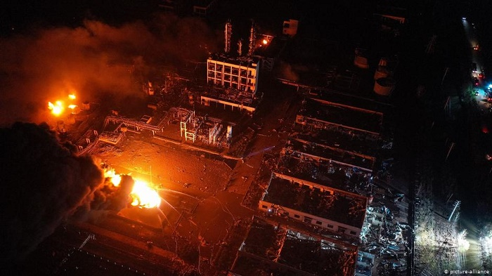 5 dead after explosion at a chemical plant near Wuhan