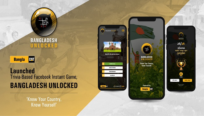 BanglaCAT launched trivia-based Facebook Instant Game, 'Bangladesh Unlocked'!