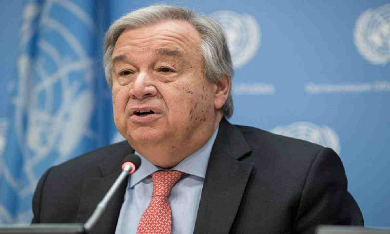 UN chief calls for protecting world from recession