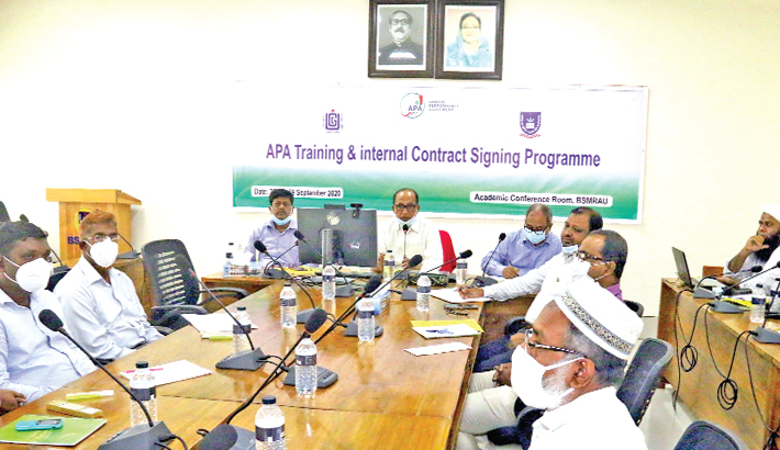 3-day training workshop on Annual Performance Agreement