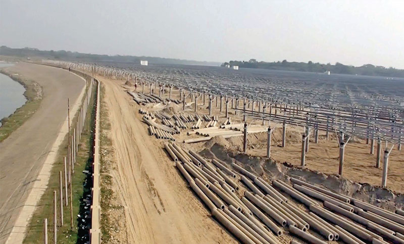 100MW solar plant on west bank of Jamuna on cards
