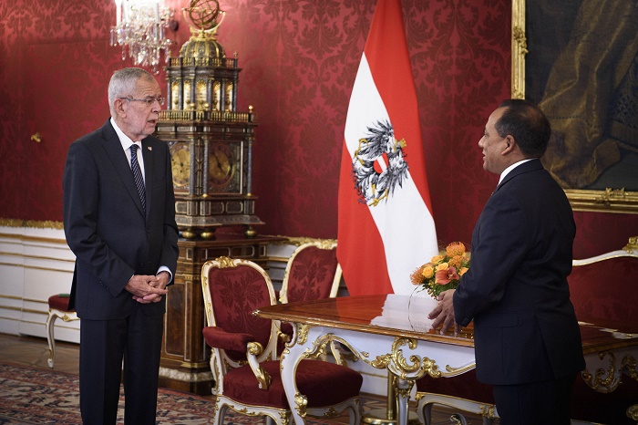 Bangladesh envoy presents credentials to Federal President of Austria