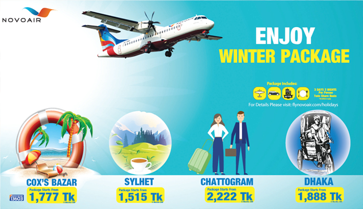NOVOAIR announces lucrative winter holiday package