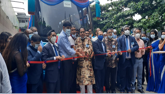 Nitol Motors, Pran RFL Group bring AC buses Tulsi