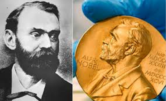Alfred Nobel, creator of dynamite and high-minded prizes