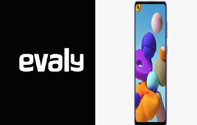 Samsung Galaxy A21S available at Evaly