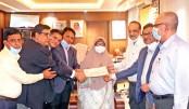 KAFCO, Nestle,Heidelberg donate Tk 74m to workers welfare fund