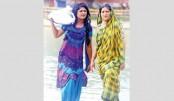 Apu, Moushumi Hamid in 'Chhai Chaapa Agun'