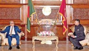 New Indian  HC presents credentials to President