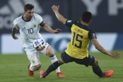 Messi fires Argentina to WC qualifying win over Ecuador