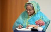 Developing newspaper reading habit: Sheikh Hasina revisits memory lane