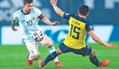 Messi fires Argentina  past Ecuador