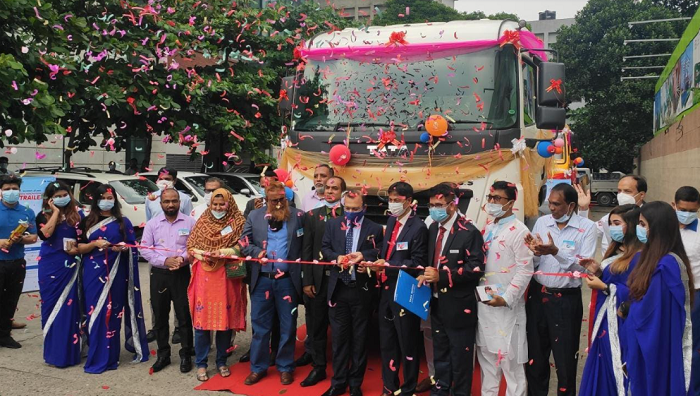 Specially-designed TATA Prime Mover Trailer Truck launched