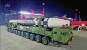 North Korea defies corona with huge military parade