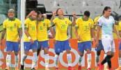 Brazil hammer Bolivia  in WC qualifier