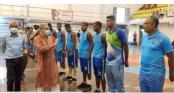 Semifinals of Bangabandhu Federation Cup Basketball on Tuesday