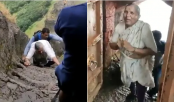 68-year-old woman's steep climb up a fort in Maharashtra wins praise