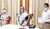 PM unveils book on Bangamata