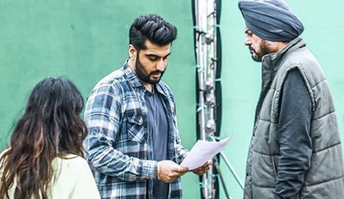 Arjun Kapoor resumes work after recovering from COVID-19