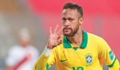 Neymar hat-trick fires Brazil past Peru