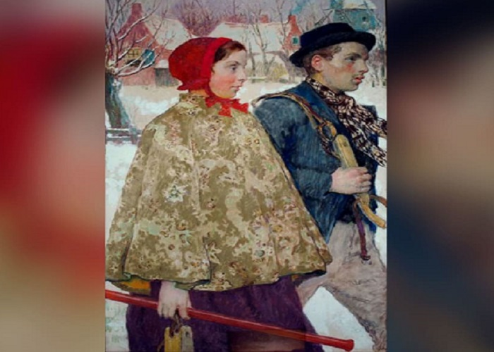 Painting returned 87 years after Nazis stole it from a Jewish family in Berlin