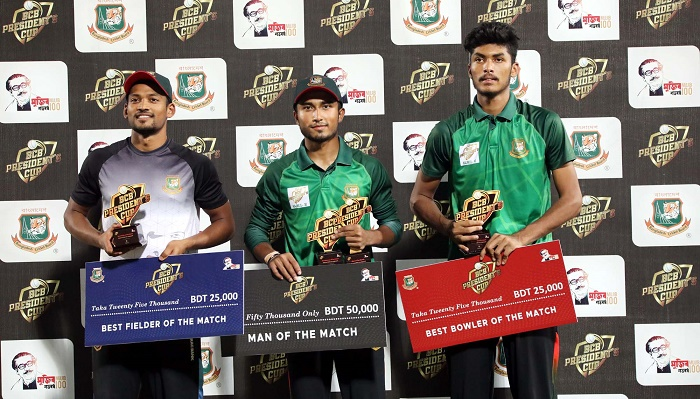 Nazmul XI goes on top
