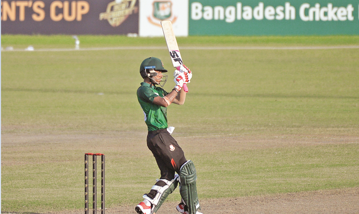 Afif guides Nazmul XI to 264