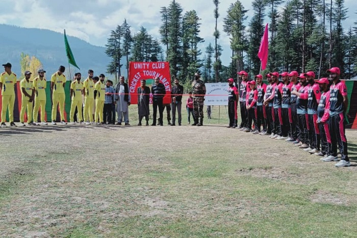 Jammu and Kashmir holds Unity Cup Cricket tournament