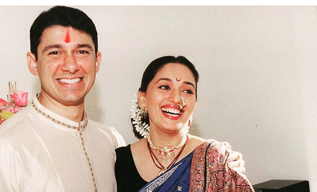 Madhuri Dixit and Sriram Nene's anniversary posts for each other are pure love