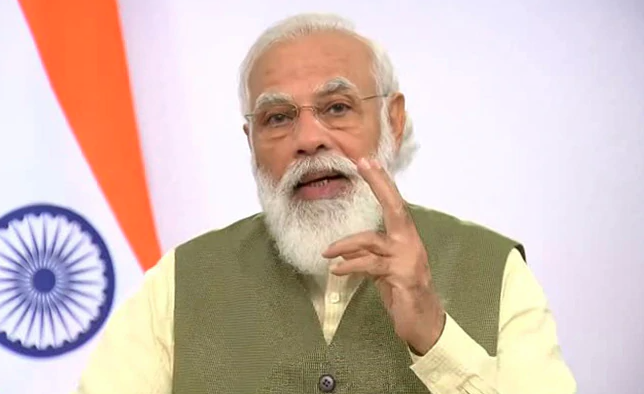 Modi suggests developing vaccine delivery system like elections