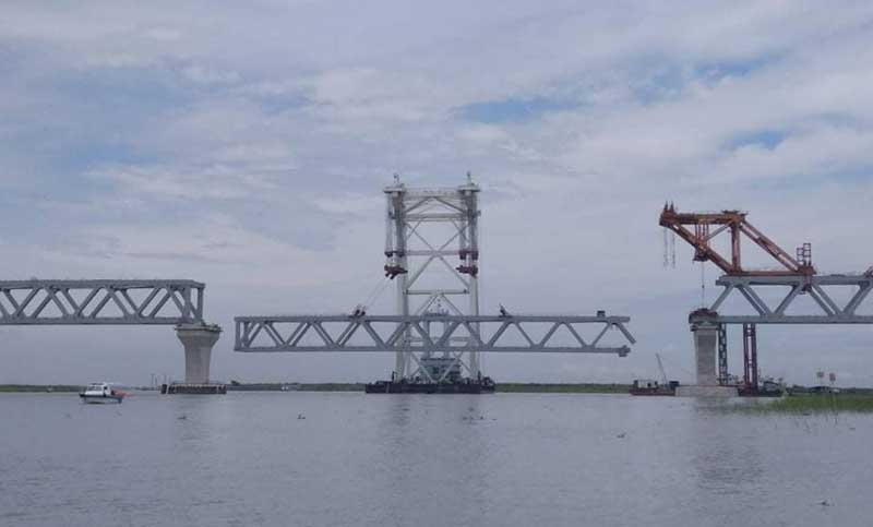 33rd span of Padma Bridge to be installed today
