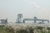 33rd span of Padma Bridge installed