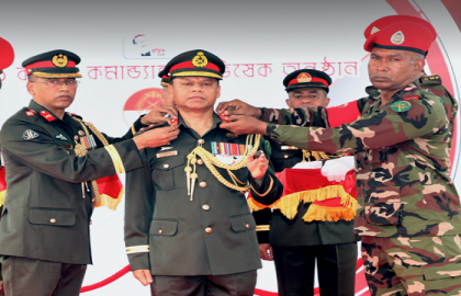 GOC of ARTDOC made 6th Colonel Commandant of Corps of Military Police