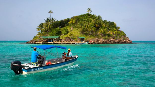 Providencia: An Island with a ' sea of seven colours'