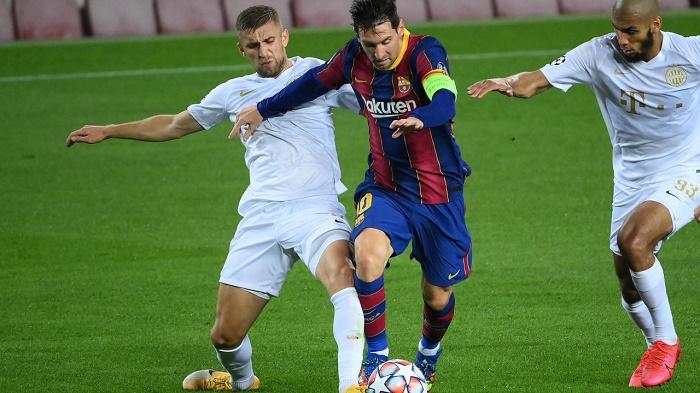 Barcelona start afresh with five-goal rout of Ferencvaros