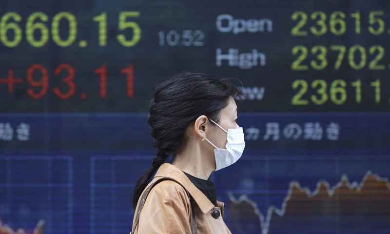 Asian shares rise after Wall Street gains on solid earnings