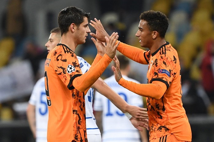 Morata double gets Juventus off the mark in Kiev