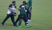 Mushfiqur sustained shoulder injury