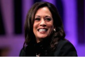 Outrage over poster showing Kamala Harris as Goddess Durga