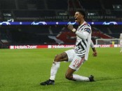Rashford strikes late again as Man Utd beat PSG in Champions League opener