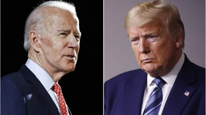 Trump traverses US as Obama steps up support for Biden