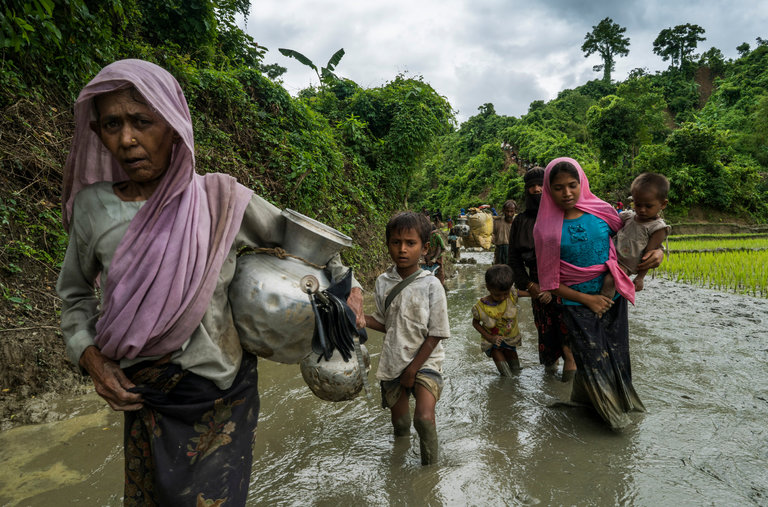 """Dominic Raab urges world not to """"turn away from Rohingya's suffering"""""""