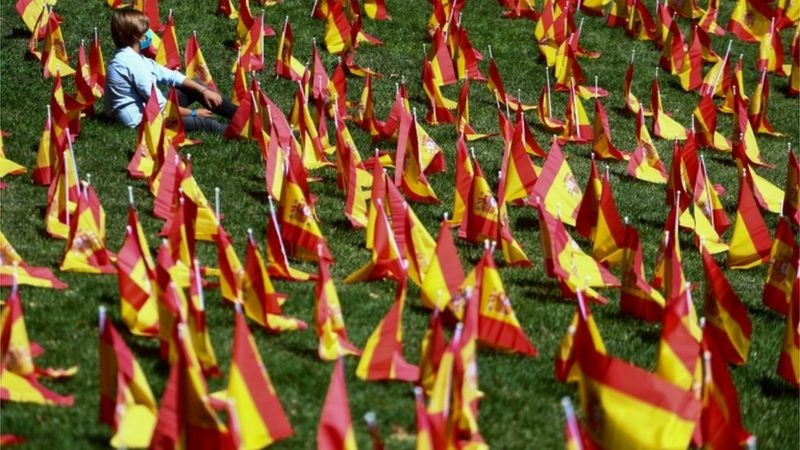 Coronavirus: Spain passes one million Covid-19 cases
