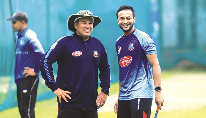 Domingo urges all to keep patience with Shakib