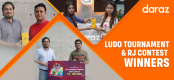 Daraz announces names of winners in Ludo Tournament