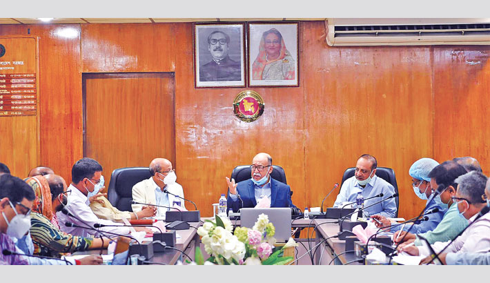 Complete work of Bhairab BSCIC Industrial City quickly: Minister