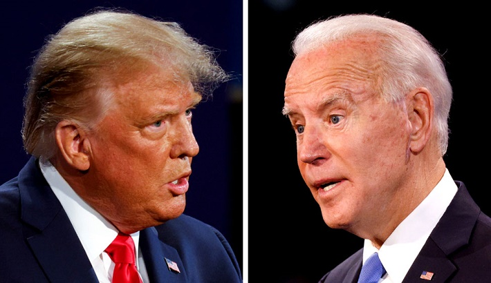 US Election 2020: Trump and Biden row over Covid, climate and racism