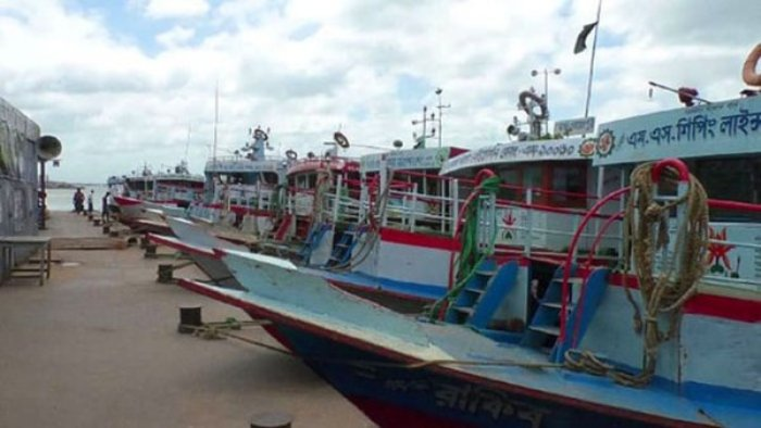 Bad weather suspends water transport services on Shimulia-Kathalbari routes