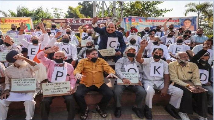 PoK refugees observe Black Day in Jammu